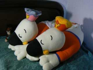 おやすみアルビくん&スワンちゃん